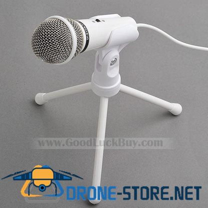 3.5mm Computer Condenser Microphone SF-910 for PC Vocal VoIP