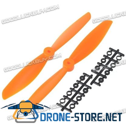 "10x4.7"" 1047 1047R Counter Rotating Propeller Blade For Quadcopter MultiCoptor-Orange"