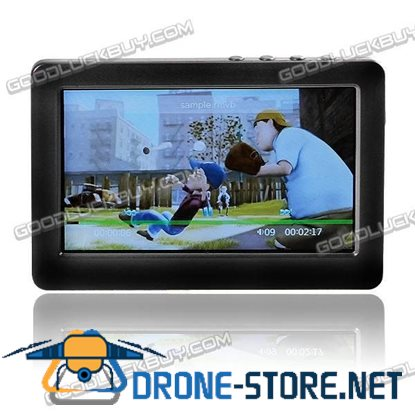 """4.3"""" PMP MP4 MP5 Movie Music Video Player TV OUT 4G Black"""