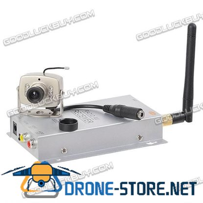 2.4G CCTV PAL Wireless Camera & Receiver Security System KY-2.4GR01+ C-208A