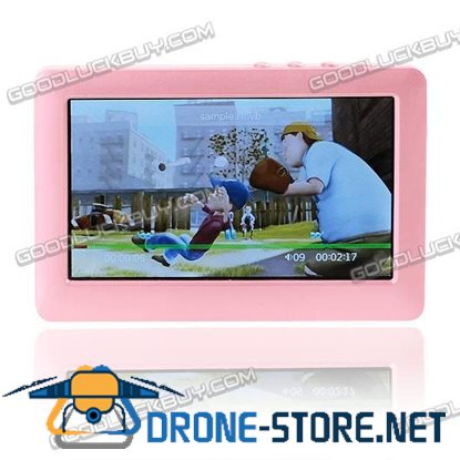 """4.3"""" PMP MP4 MP5 Movie Music Video Player TV OUT 4G Pink"""