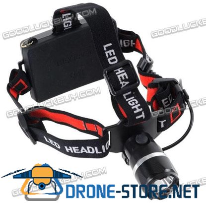 CREE 3-Mode LED 160LM 3W Flashlight HeadLight Headlamp