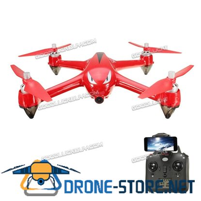 MJX Bugs 2 B2W WIFI FPV Brushless With HD 1080P Camera GPS RC Quadcopter Red
