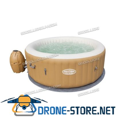 New Bestway Inflatable Spa Massage Hot Tub Portable LAY Z Spa Indoor Outdoor Bath Pool