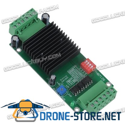 THB7128 3A Stepper Motor Controller Driver w/Heat Sink for 42/57 Two-phase Stepper Motor