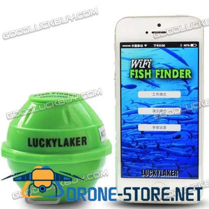 FF916 Sonar Wireless WIFI Sea Fish Detect Finder Fishfinder 50M/130ft for IOS Android
