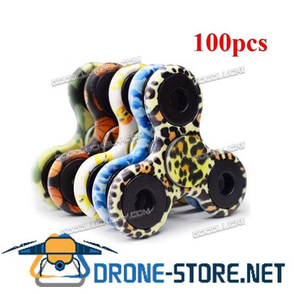 100Pcs Wholesale Fidget Finger Hand Spinner EDC Steel Bearing Focus Toys Gifts
