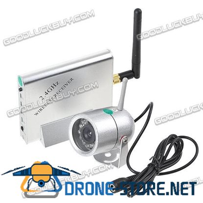 2.4GHz Wireless CCTV NTSC Camera & Receiver Security System KY-2.4GR02+WN-7