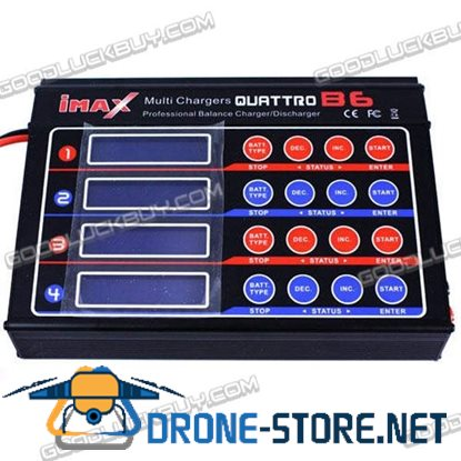 Genuine iMAX QUATTRO 4B6 Balance Charger Discharger