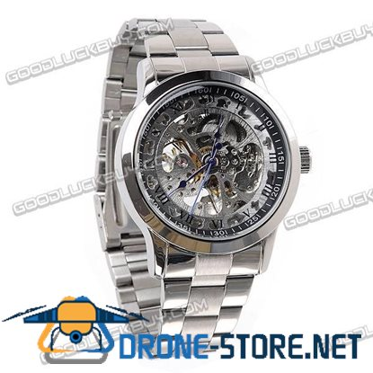 IK Colouring Automatic Mechanical Men Wrist Watch Stainless Steel 98231