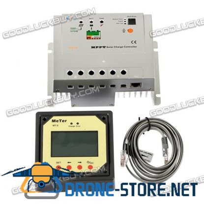 20A MPPT EPsolar Tracer 2215RN Solar Battery Charge Controller Regulator+ Remote Meter MT5