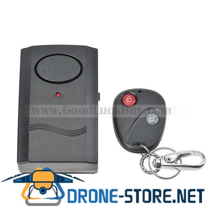 Wireless Remote Control Door/Window Vibration Alarm Detector