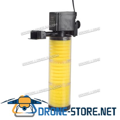 3in 1 SOBO WP-3300B 1500 L/H 25W Fish Tank Aquarium Internal submersible Water Power Filter AU