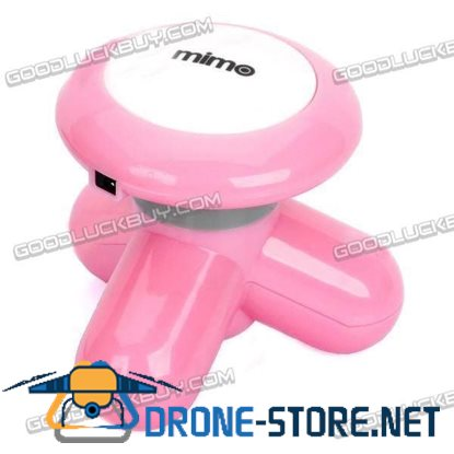USB / 3 x AAA Powered Vibrating Muscles Electric Massager - Pink