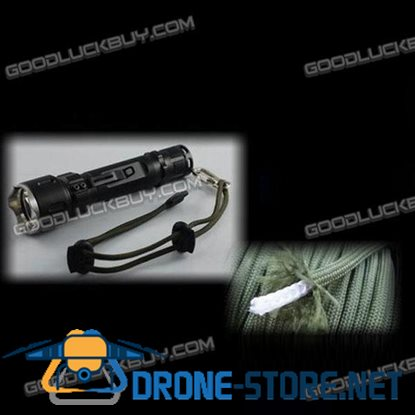 L20-C Top Quality 240 lumens Flashlight Cree R2 5 Mode Torch