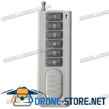 6 Channels ON-OFF Light/Lamp Wireless RF Radio Remote Control 315MHz