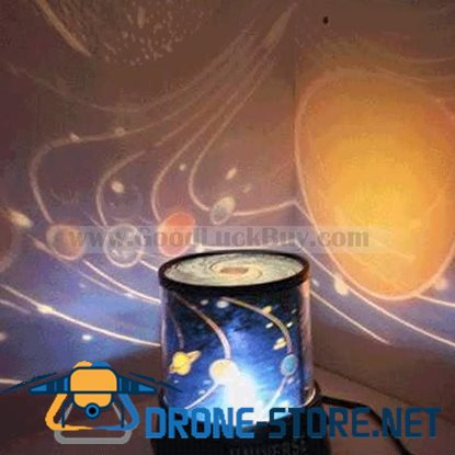 Rotating Planet Universe Master Starry Night Light Lighting Projector