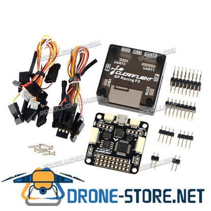 10DOF SP Racing F3 Flight Controller Deluxe Version w/ Protective Case for FPV Multicopter QAV250