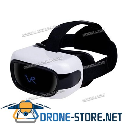 3D All-in-one 8GB Wifi Bluetooth Android 5.1 Virtual Reality VR Glasses Headset White