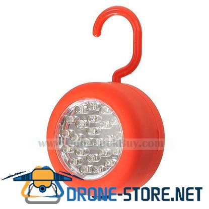 24-LED Workshop Disc Lamp with Magnetic Mount