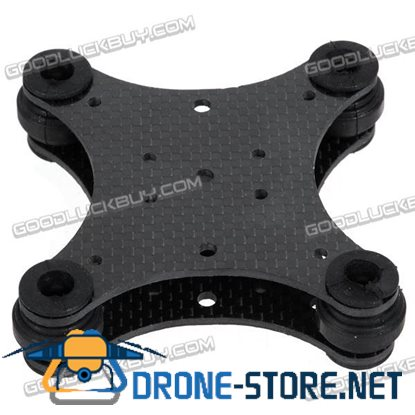 3K Carbon Fiber PTZ Anti-Vibration Frame Set for DJI Phantom Quadcopter