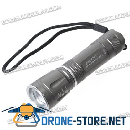 PALIGHT M6 Gree LED Flood-to-Throw Zooming 5-Mode Flashlight