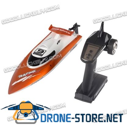 FT009 2.4G 4CH Water Cooling High Speed Remote Control RC Racing Boat 30km/h Orange