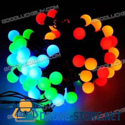4-color Fairy LED Light String Ball100 LED 10M 8-Mode for Christmas Party