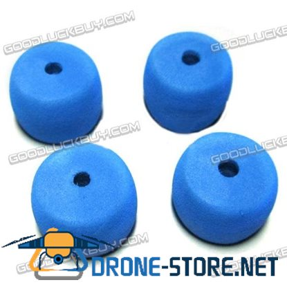 Landing Gear Foam Anti-shock Protective Sleeve for RC Helicopters Blue 4PCS