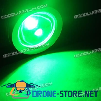 10W Underwater Waterproof LED Flood Round Light Lamp Safe 12V Outdoor-Green