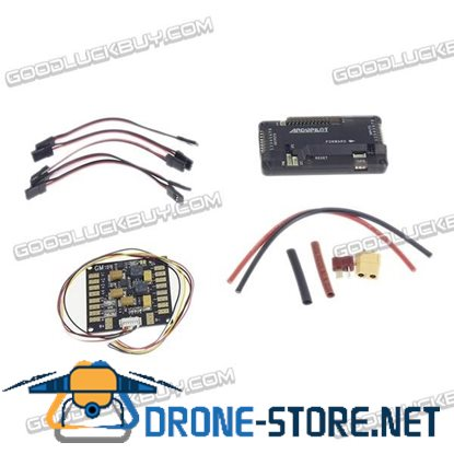 APM2.8 Flight Controller Board ARDUPILOT MEGA with 3 in 1 Power Distribution Board for Quadcopter Multicopter
