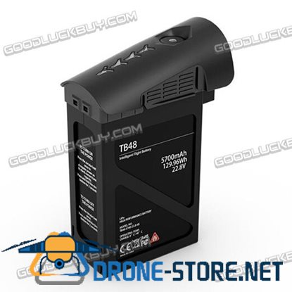 TB48 Intelligent Flight Battery 5700mAh for DJI Inspire 1 Series Quadcopter Black