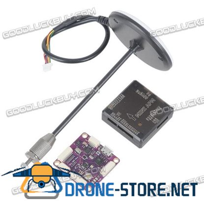 Ublox NEO-M8N GPS Built-in Compass Module with Mini APM Flight Controller & Shell Combo