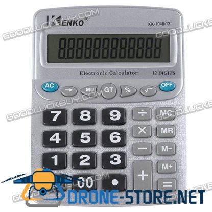 12-digits Desktop Electronic Calculator Big Button KK-1048-12