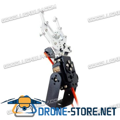 2DOF RC Robot Metal Aluminum Alloy Mechanical Arm Gripper Kit with MG995 Analog Servo