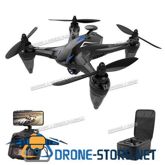 WIFI RC GW198 5G 2.4G Remote Drone W/ 720P Camera GPS FPV Brushless Helicopter Black&Blue