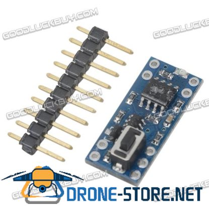 10A Power Switch Module One Button Control for DIY
