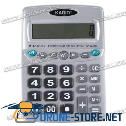 12-digits Desktop Electronic Calculator KD-1038B