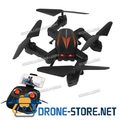 Florld F12W Wifi FPV Foldable RC Quadcopter 2MP HD Camera Headless Mode