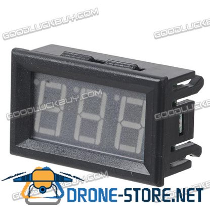 0.56'' 3.5V-30V Variable Precision Digital Voltmeter Green w/ Case