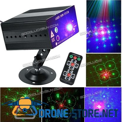 48 Pattern Laser Projector Stage Lights Mini LED RGB Lighting for Party DJ Disco KTV