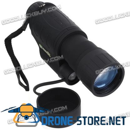 Infrared Nightfall Night Vision 5X Monocular Telescopes 100m/110yards
