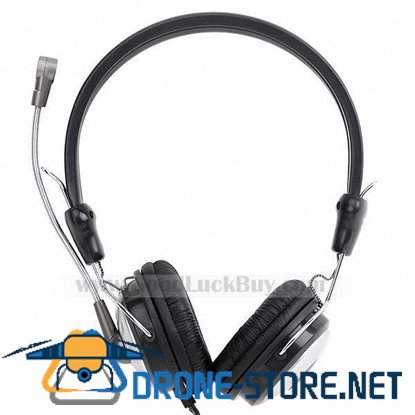 Bass Multimedia Professional Stereo DJ Headphone Headset Microphone Mic