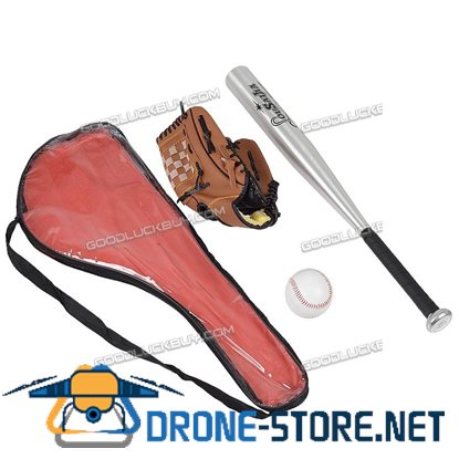 1 Set Healthy Sport Soft Baseball Bat Glove and Fitness Ball Set Kids Tranning