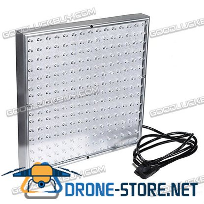 15W 225*LED Hydroponic Panel Indoor Garden Plant Lamp Blue&Red Grow Lights 110-260V