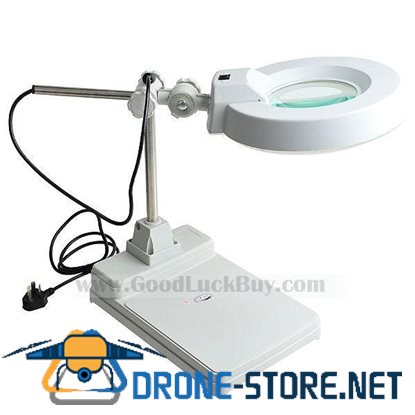 LT-B X10 Table Lamp Glass Magnification Magnifier