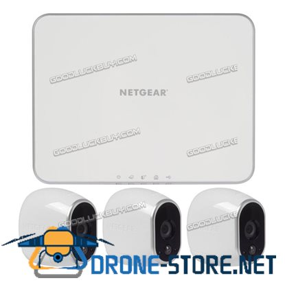 NETGEAR V3330 Arlo Wire-Free HD Camera Security System with 3 HD Cameras