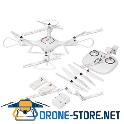 SYMA X25pro GPS DRON WIFI FPV With 720PCamera RC Quadcopter+Extra Batteries