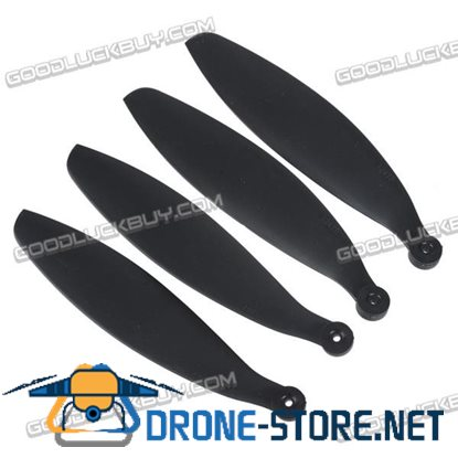 "12x4.7"" 12x4.7 Inch 1247 Folding Propeller Blade for RC Powered Airplane Glider Black 2 Pair"
