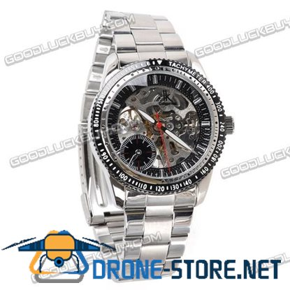 IK Colouring Automatic Mechanical Men Wrist Watch Stainless Steel 98191